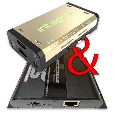 Hdfury Integral + 4k hdmi extender-0